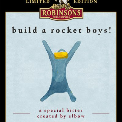 MFDF and Elbow's 'Build a Rocket Boys' beer