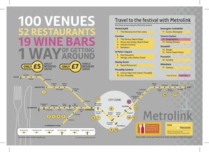 Travel to the Festival with Metrolink