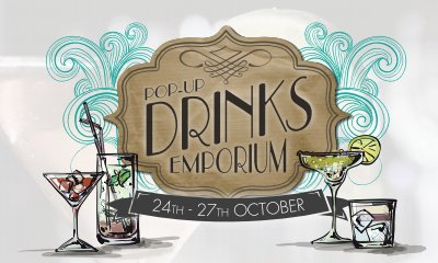 Missing the Festival Already... No Fear! The Pop Up Drinks Emporium at The Corn Exchange!