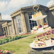 Afternoon Tea at Heaton Hall's famous 'Orangery'