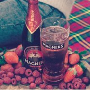 Magners at the Hub