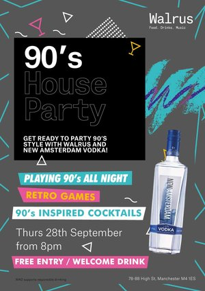 90s House Party at Walrus