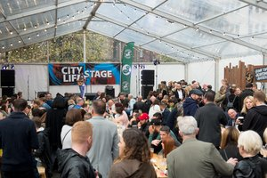 The City Life Stage at The Hub